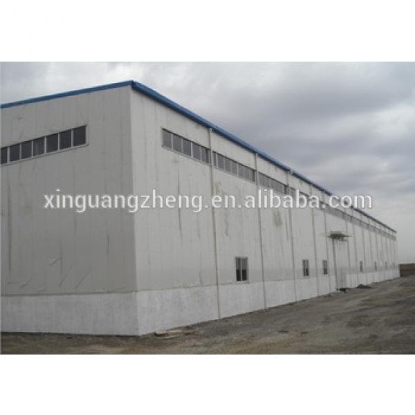 large span prefabricated steel frame barns #1 image