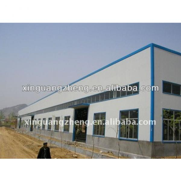 low cost light gauge steel frame structure quickly erectable warehouse building #1 image