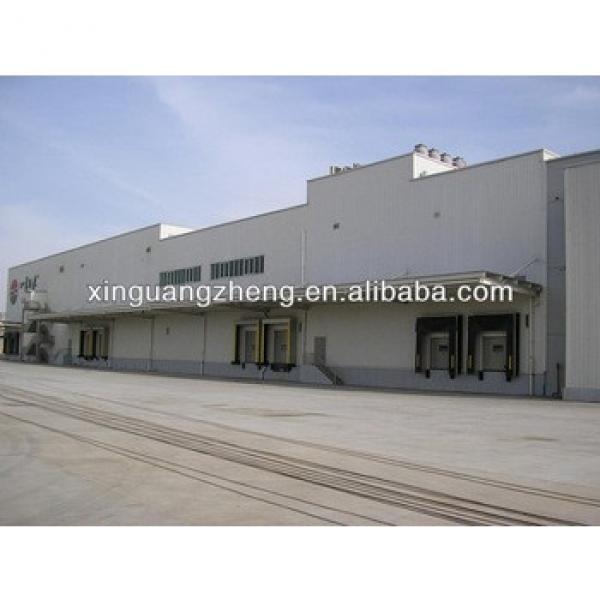 light prefab portal frame steel structure for cold storage warehouse #1 image
