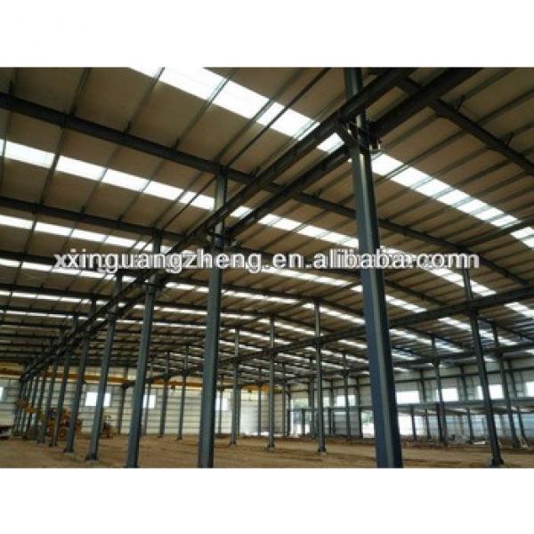 light prefab portal frame steel structure warehouse building plans #1 image