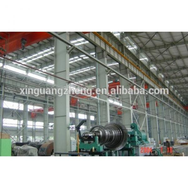 multi story structural steel industrial warehouse with crane #1 image
