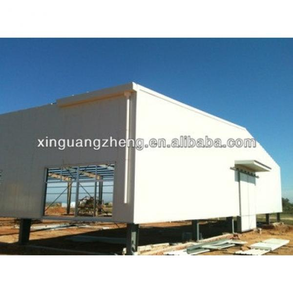 large span prefabricated steel space frame structure fabrication warehouse building construction projects #1 image