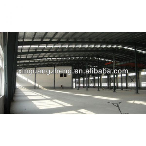 pre engineering steel frame structure fabricated warehouse buildings #1 image