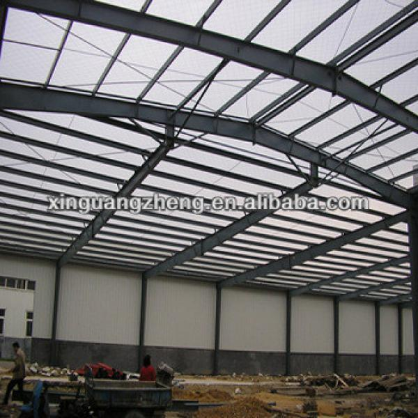 light china cheap factory structure steel sapce frame warehouse fast constrution building #1 image