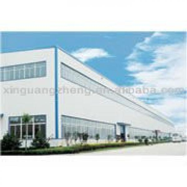 Steel structure H-beam economic prefabricated warehouse /workshop/project #1 image