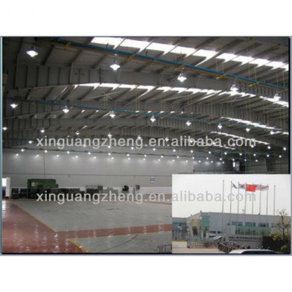 Prefabricated Steel structure warehouse project /chicken shed/workshop/building/building project #1 image