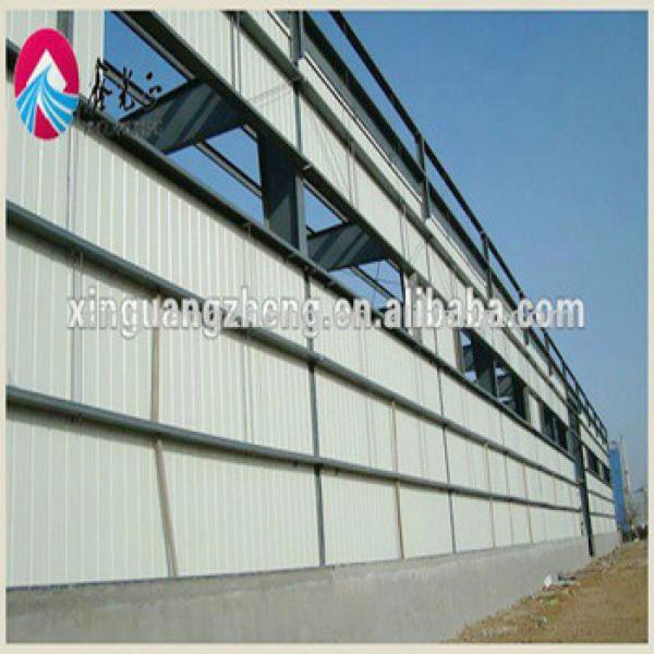 Prefabricated light steel frame Earthquake-proof modern warehouse project with good corrosion resistance/chicken shed/workshop #1 image