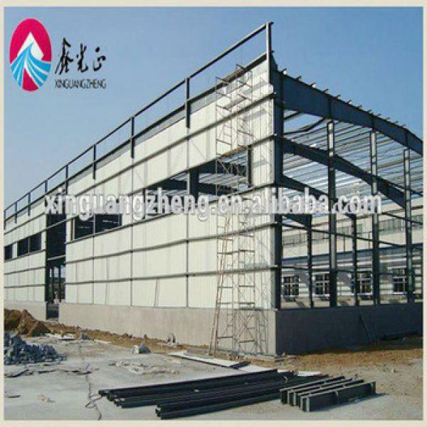 Prefab light steel frame Earthquake-proof modern warehouse project with good corrosion resistance/chicken shed/workshop #1 image