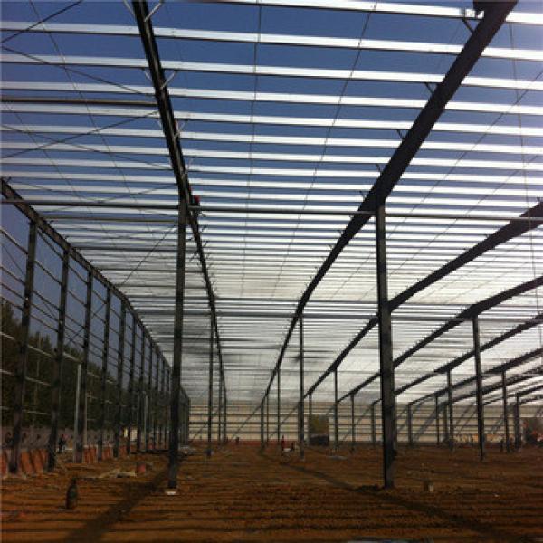 light steel truss frame warehouse pre engineered steel structure garage steel structure fabrication plant #1 image