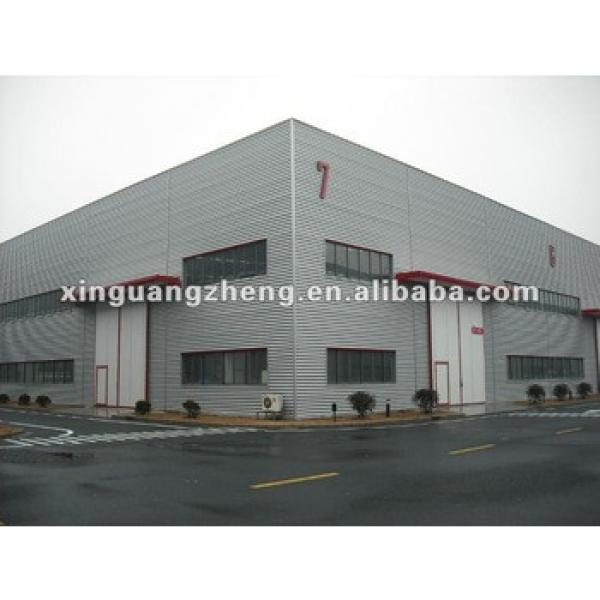 new design high quality low cost steel structure shed #1 image