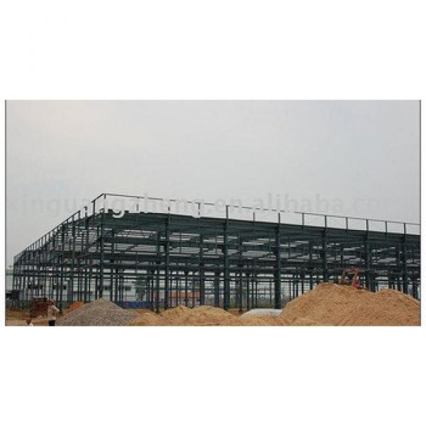 low cost light steel structural PREFABRICATED WAREHOUSE construction design and installation #1 image