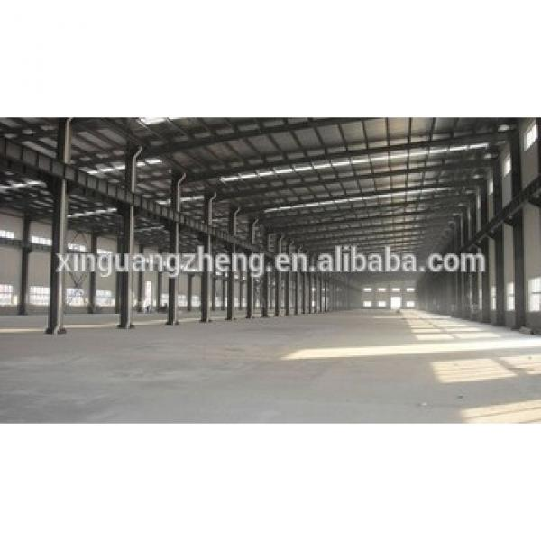 commercial prefabricated light low cost steel structure shed #1 image