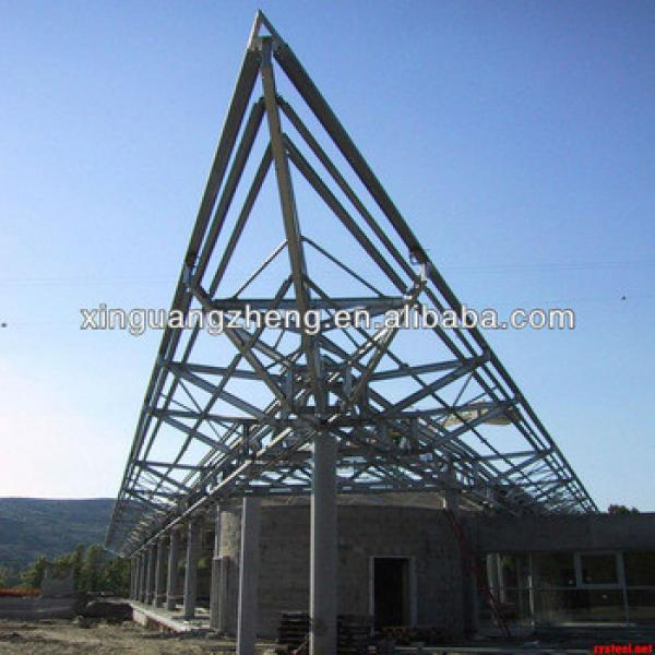 steel structure parts prefabricated warehouse workshop shed #1 image