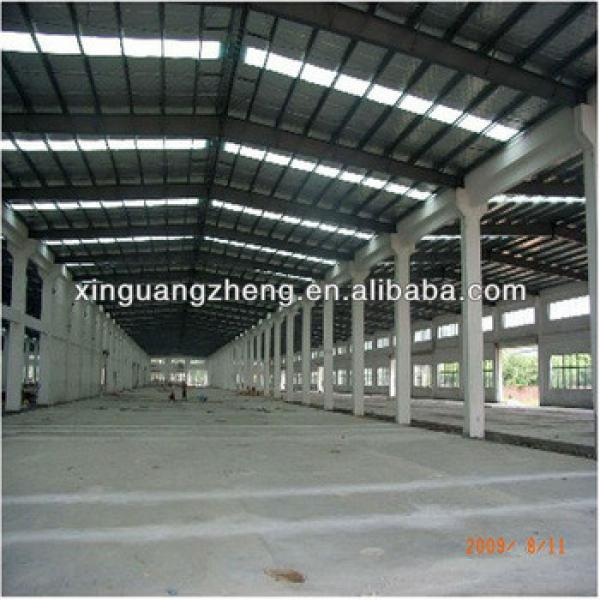 steel frame warehouse with corrugated stainless steel sheet #1 image
