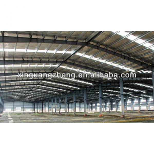 light steel structure warehouse hangar drawing #1 image