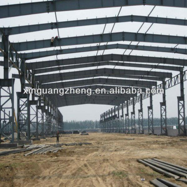 isolated steel structure warehouse workshop steel building construction with design #1 image