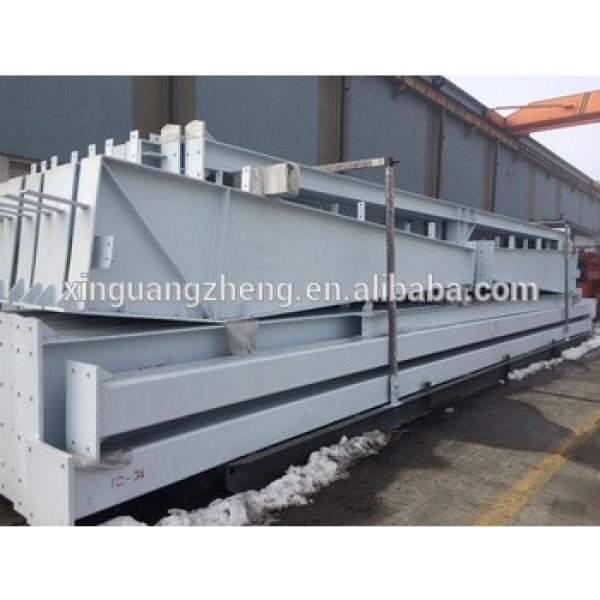 prefabricated building warehouse used steel structure welded q235 q345 h beam #1 image