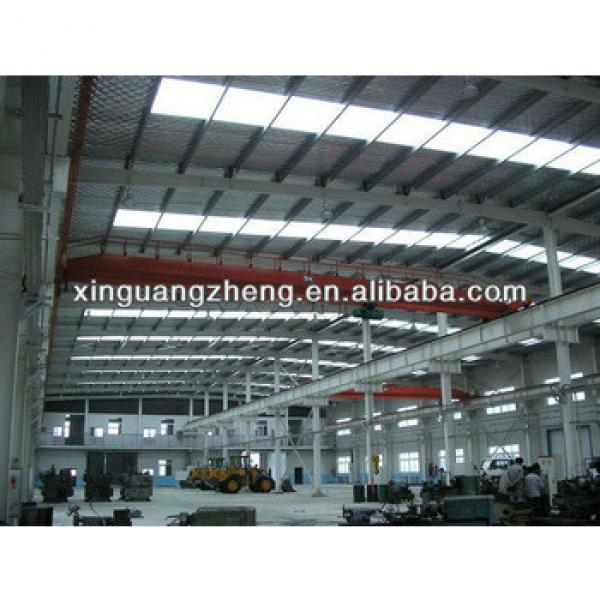 construction manual building steel structure warehouse with construction design #1 image