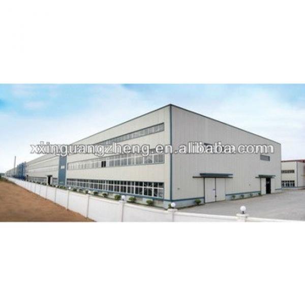 generator warehouse steel structure warehouse with construction design #1 image