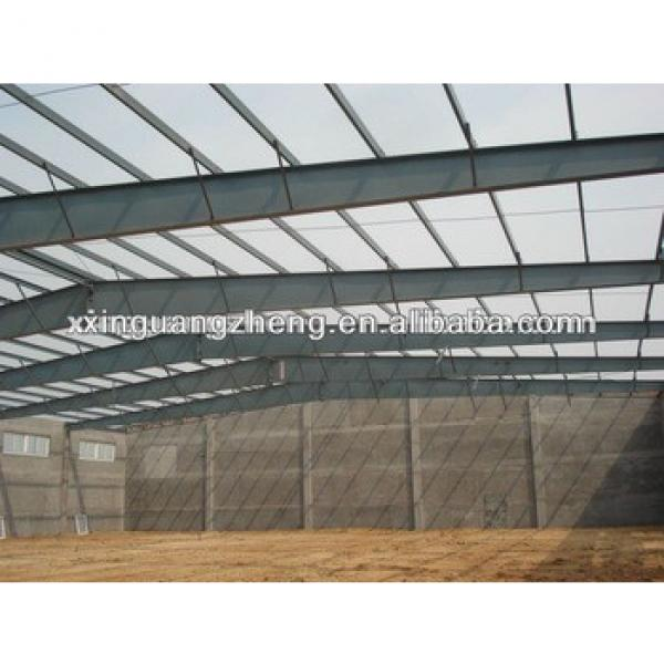 factory shed design steel structure warehouse with steel frame formwork #1 image