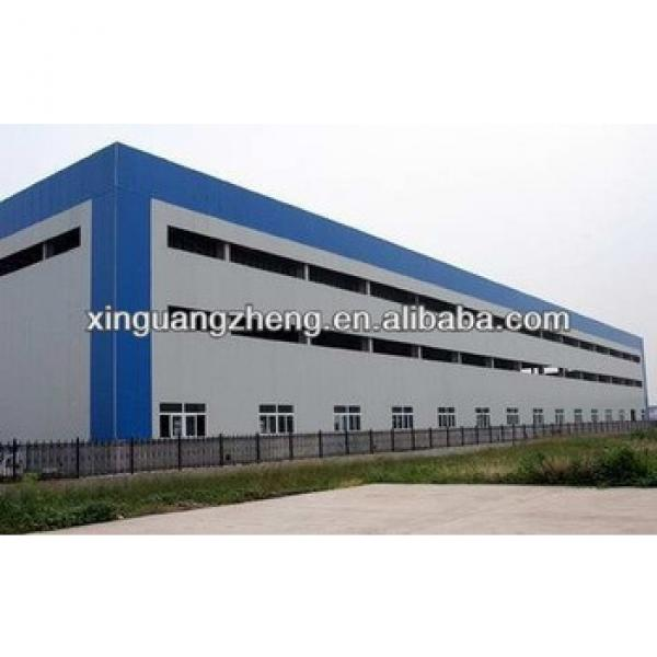 fabric roof structure prefab warehouse steel industrial shed construction industrial layout design #1 image