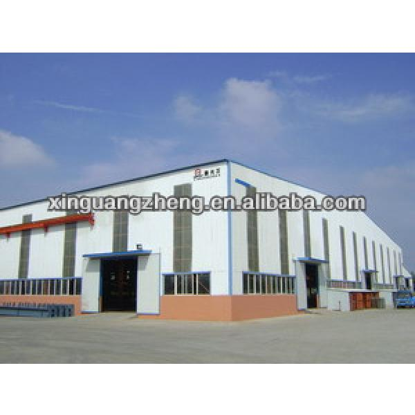 factory shed design steel structure warehouse with light weight steel frame #1 image