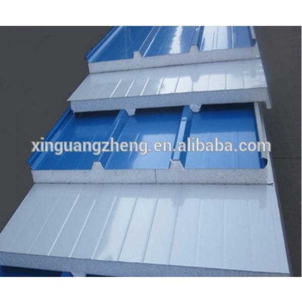 prefabricated wall panels light building material for Algerian warehouse #1 image