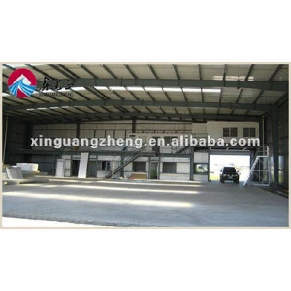 prefabricated airport steel structure fire station warehouse #1 image