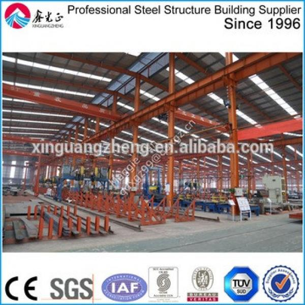 Steel frame structure building prefabricated warehouse #1 image