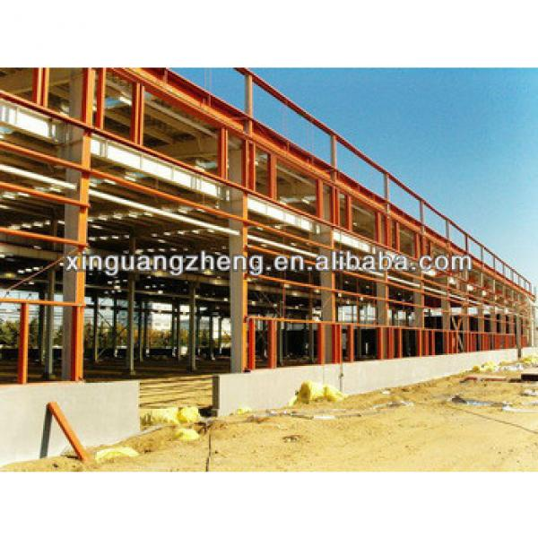 Industrial prefabricated steel structure shed #1 image