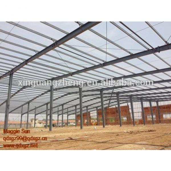 sport building construction steel structure warehouse draw #1 image