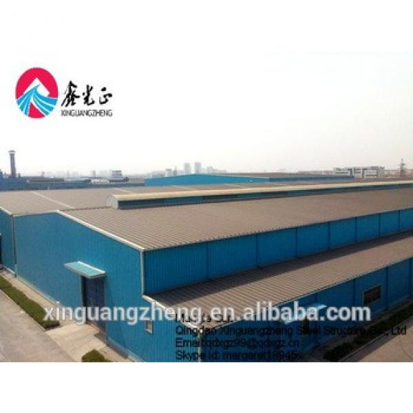 Prefabricated metal roof shade structures steel barns for sale #1 image