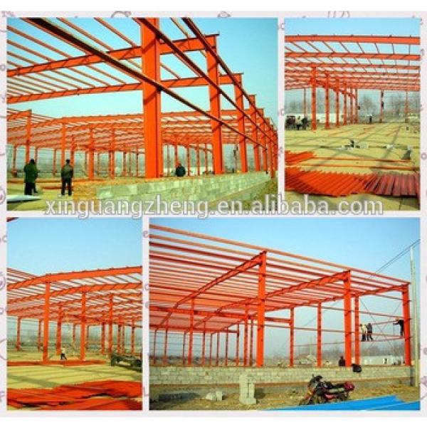 Prefabricated light steel structure hangar perfume warehouse #1 image