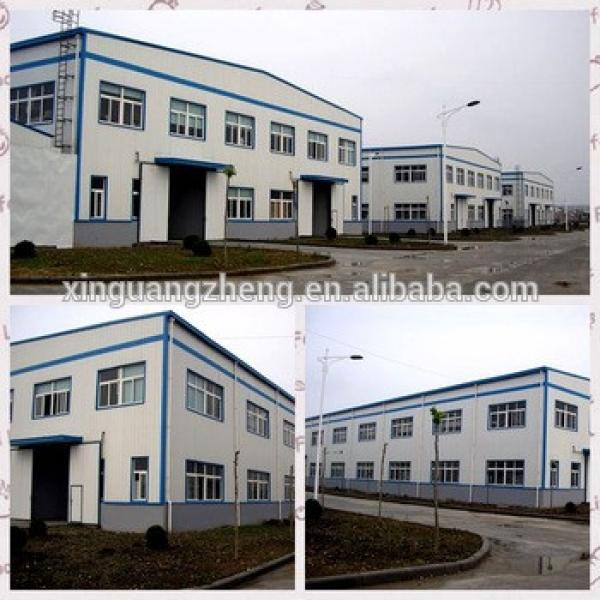 Prefabricated stable cow barn steel building plan steel shed drawing perfume warehouse #1 image
