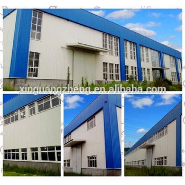 Prefabricated substation steel structure steel building plan steel shed drawing perfume warehouse #1 image