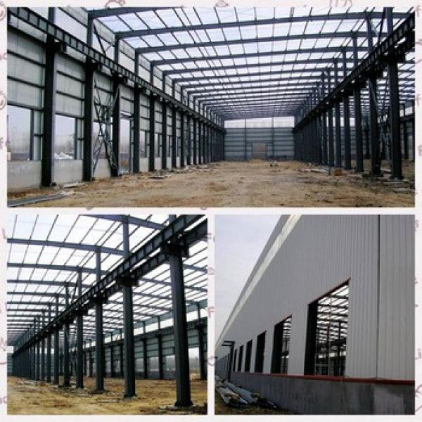Prefabricated factory building steel structure industrial storage sheds layout design #1 image