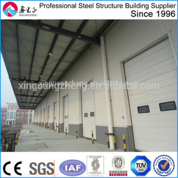 Manufacture steel shed for prefabricated structure/steel structure fabricated warehouse shed/light steel warehouse shed #1 image