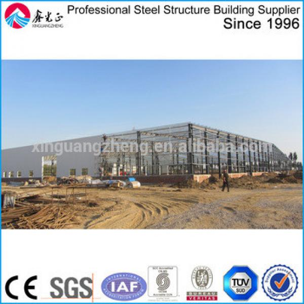 China cheap light prefabricated steel warehouse for sale #1 image
