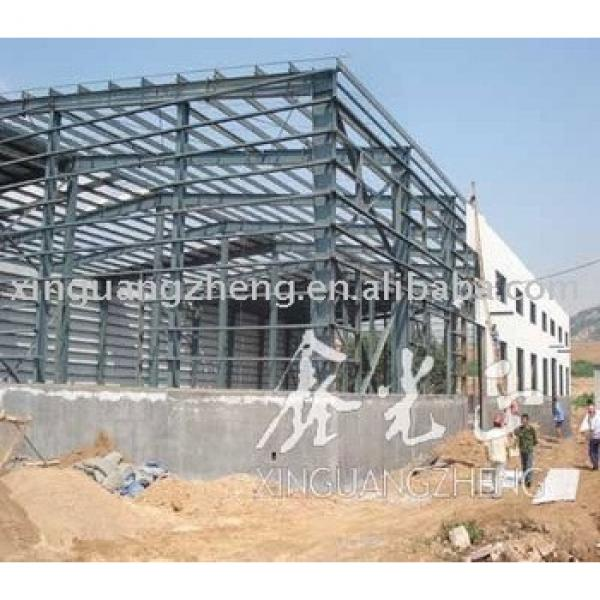 economic light steel structure prefab warehouse in thailand #1 image