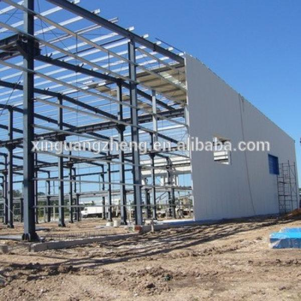 prefabricated steel structure building warehouse with ce #1 image