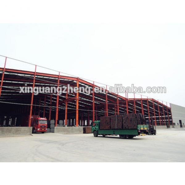prefab low cost factory workshop steel frame structure building #1 image