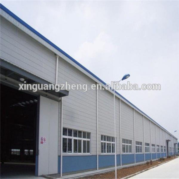 prefabricated steel frame industrial storage sheds logistics warehouse #1 image