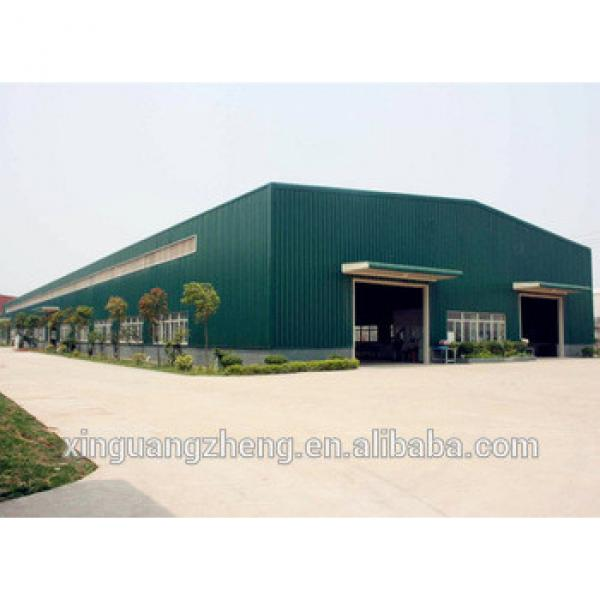 Multi-span Pre-engineered Steel Structure Building Cost-effective Pre-engineering Steel Factory Building #1 image