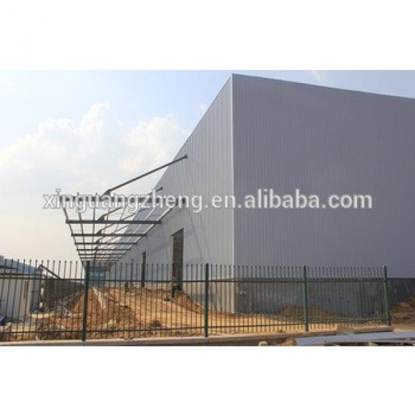 large span steel prefabricated warehouse for sale #1 image