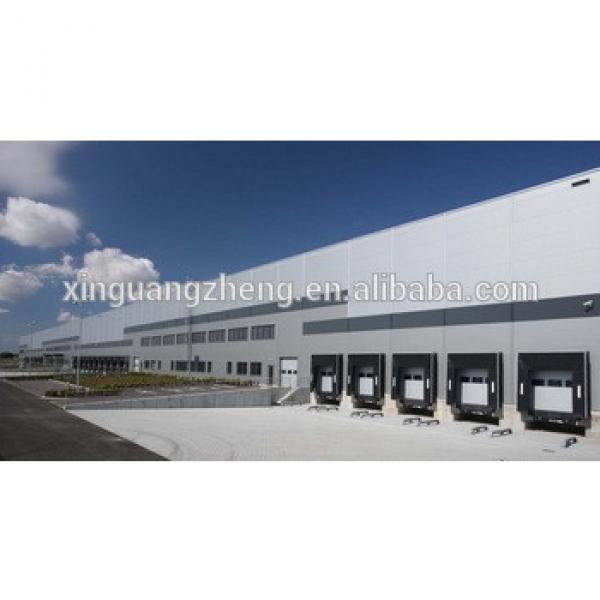 prefab factory steel structure warehouse design #1 image