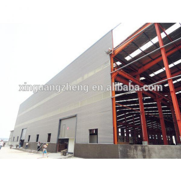 prefabricated steel structure warehouse & workshop design, installation #1 image