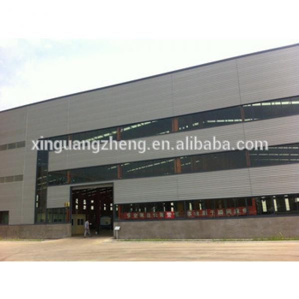 prefab steel structure workshop in africa with good service #1 image