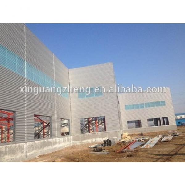 prefabricated industrial steel structure building shed with good price #1 image