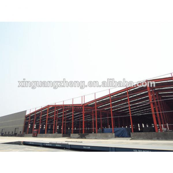 large span steel structure fire eps sandwich panel warehouse #1 image