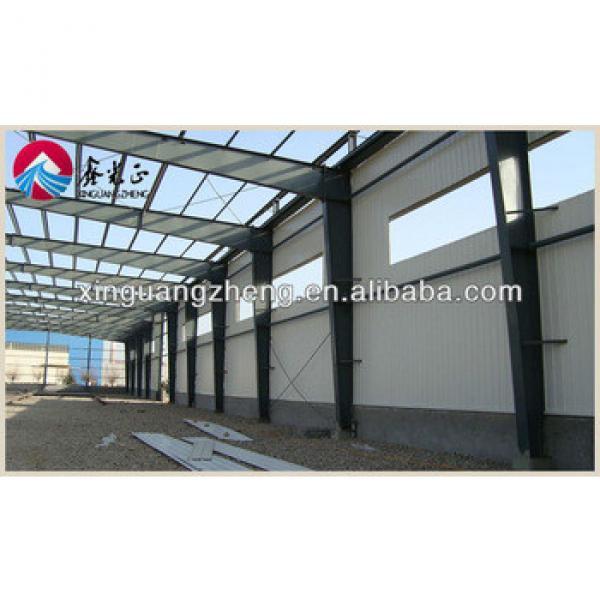 large span light steel truss frame warehouse #1 image